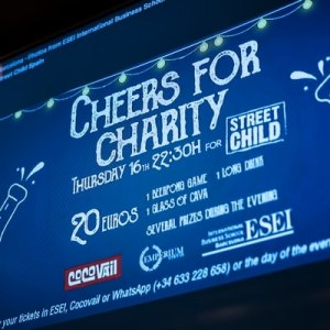 ESEI Social Project: Fundraising Event for STREET CHILD SPAIN