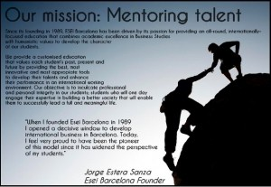 Our Mission: Mentoring Talent