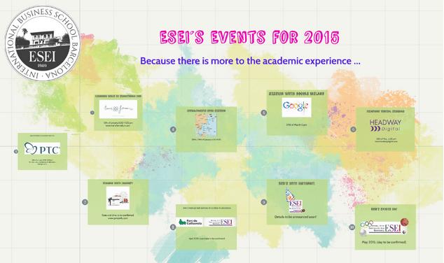 ESEI´s 2015 Events !