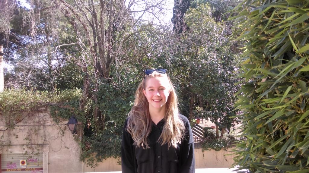 Antonia Sidnor, Swedish second year Bachelor´s student @ESEI 1