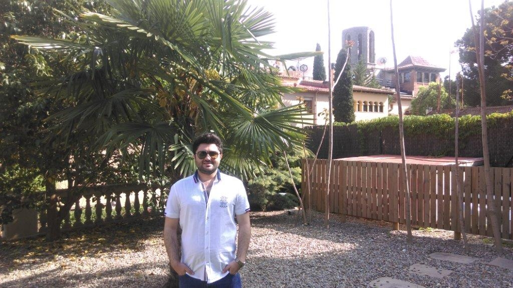 Ali Can Civan Turkish Master student @ESEI