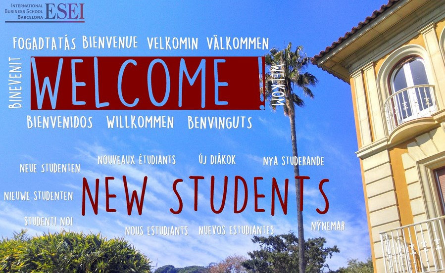 ESEI WELCOME STUDENTS 2015 - 2016