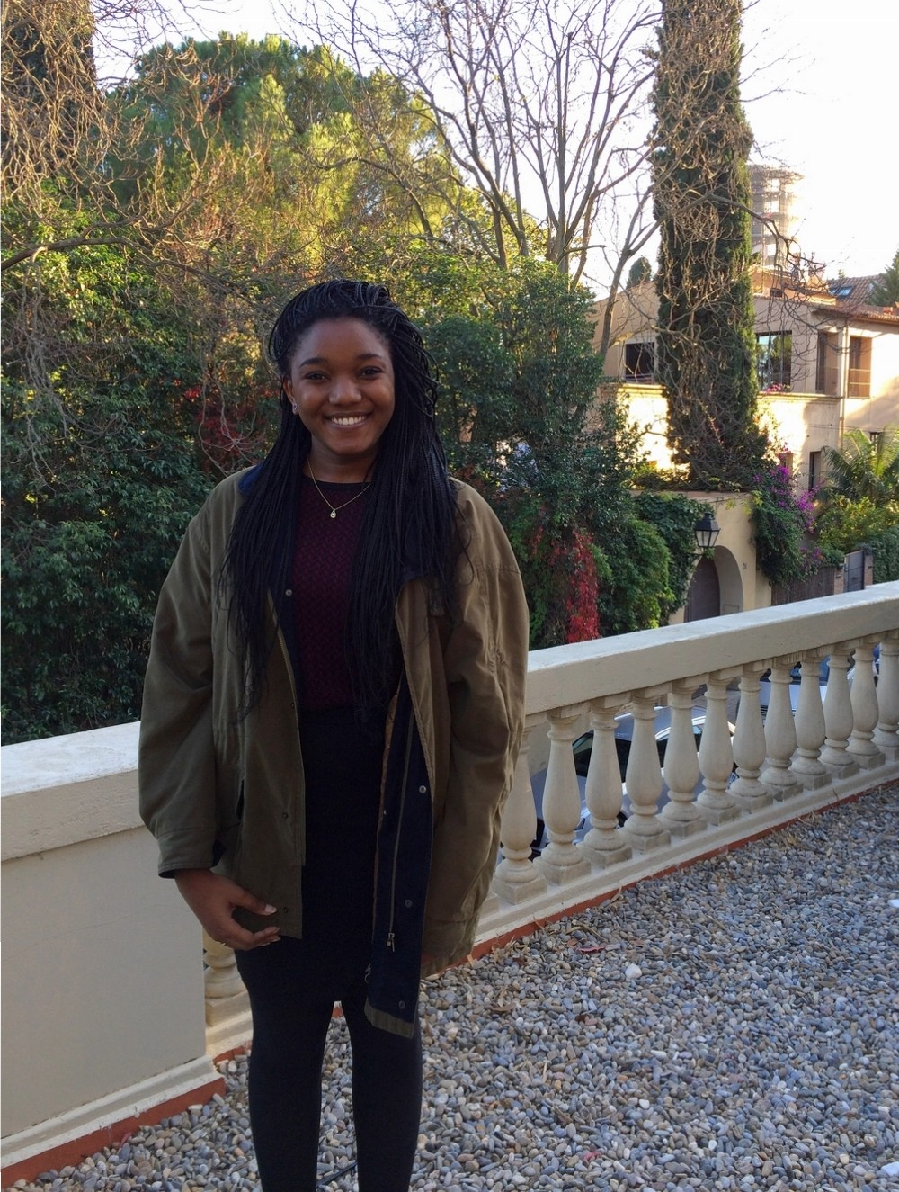 Marie Deborah Atundu Kalume, second year Bachelor´s student