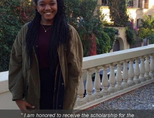 ESEI Student Wins Prestigious Scholarship