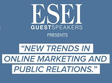 ESEI Guest Speakers: Ben Walker, Founder at The Zoom Agency
