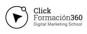 Click 360 logo