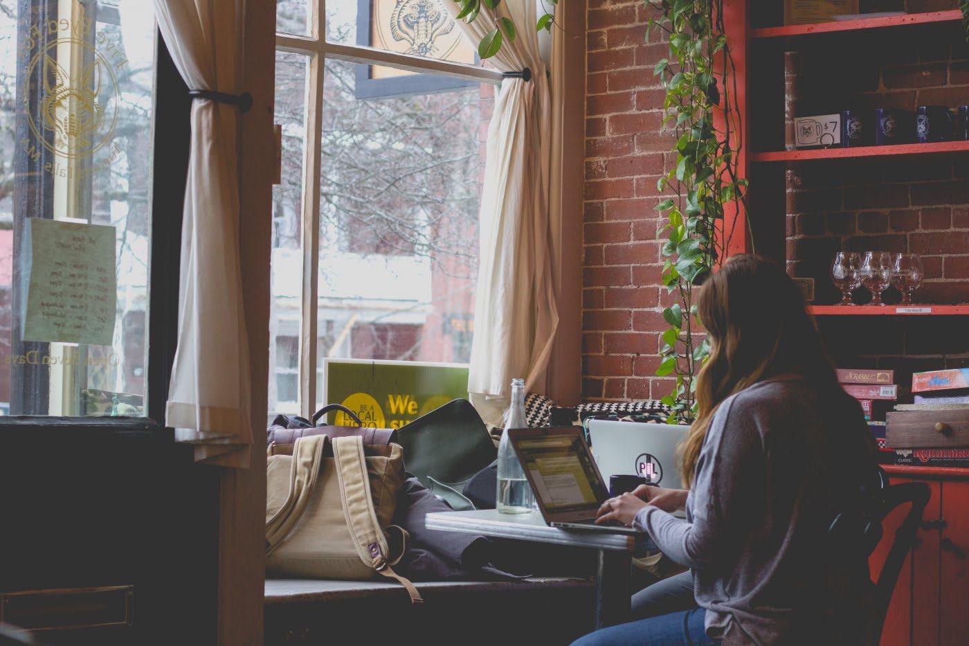 entrepreneur working laptop