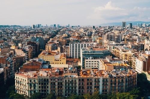 Barcelona roof