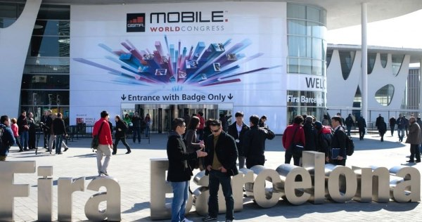 Mobile world congress Barcelona Fira 2018