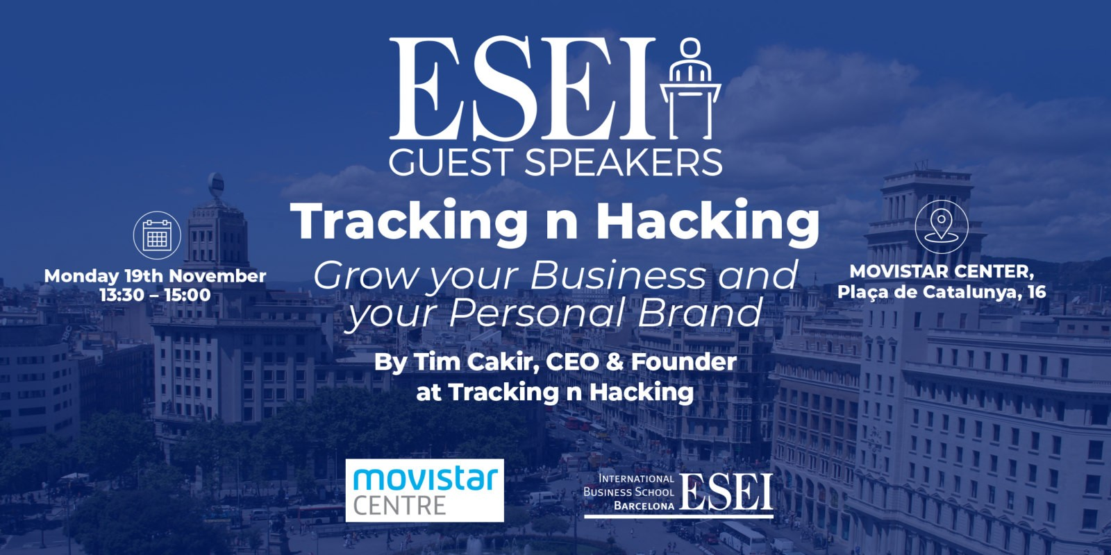 Guest Speaker Session: Tim Cakir talks growth, tracking and hacking