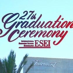 ESEI 27TH GRADUATION CEREMONY - CLASS OF 2018