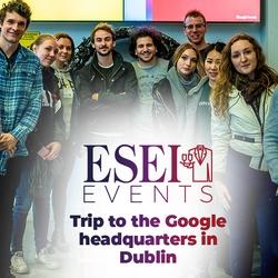 Visit at the Google European HeadOffices in Dublin, Ireland
