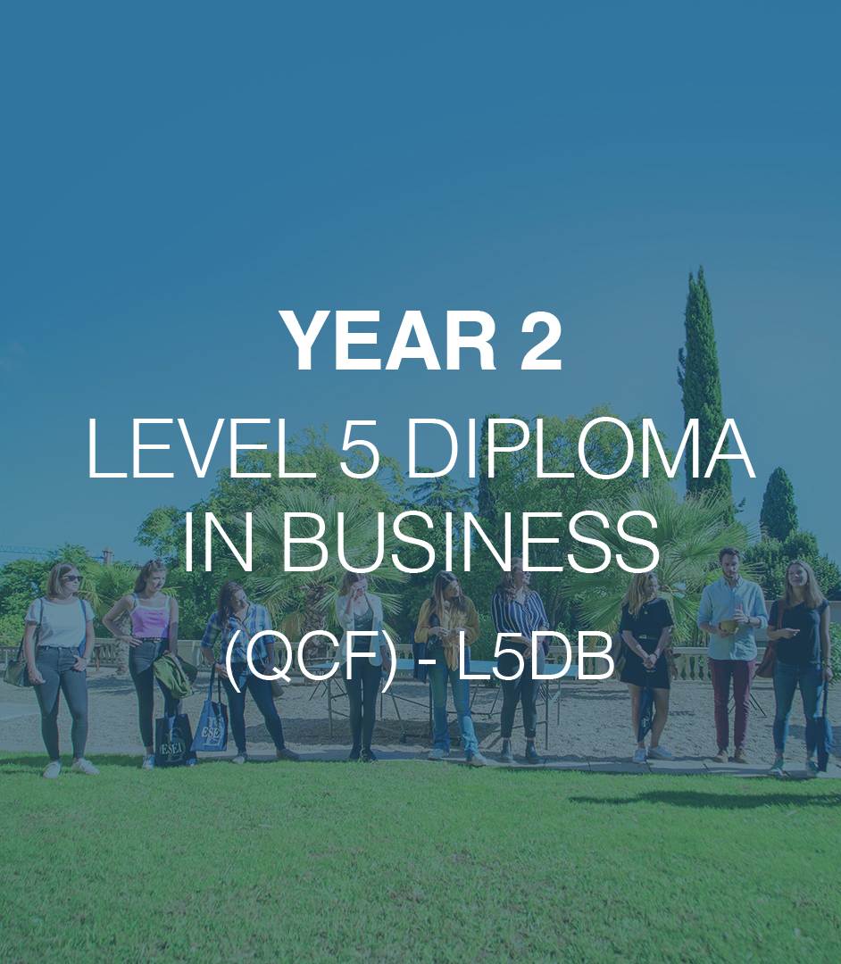 BA (Hons) in Management - Year 1 L4DB 7