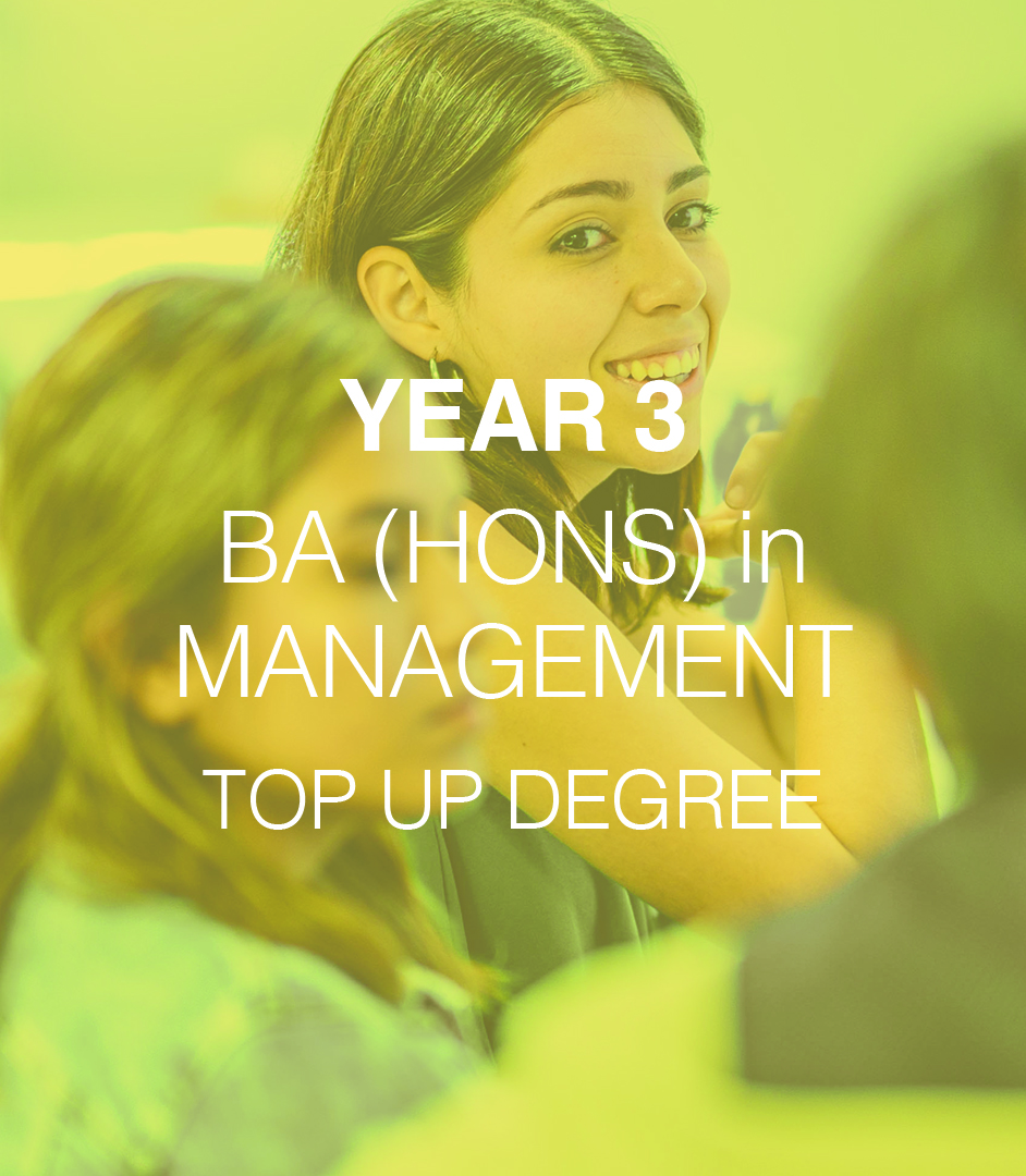 BA (Hons) in Management - Year 1 L4DB 8