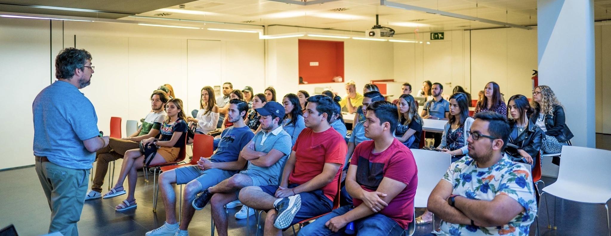 Summer courses: Welcoming students from TEC de Monterrey 2