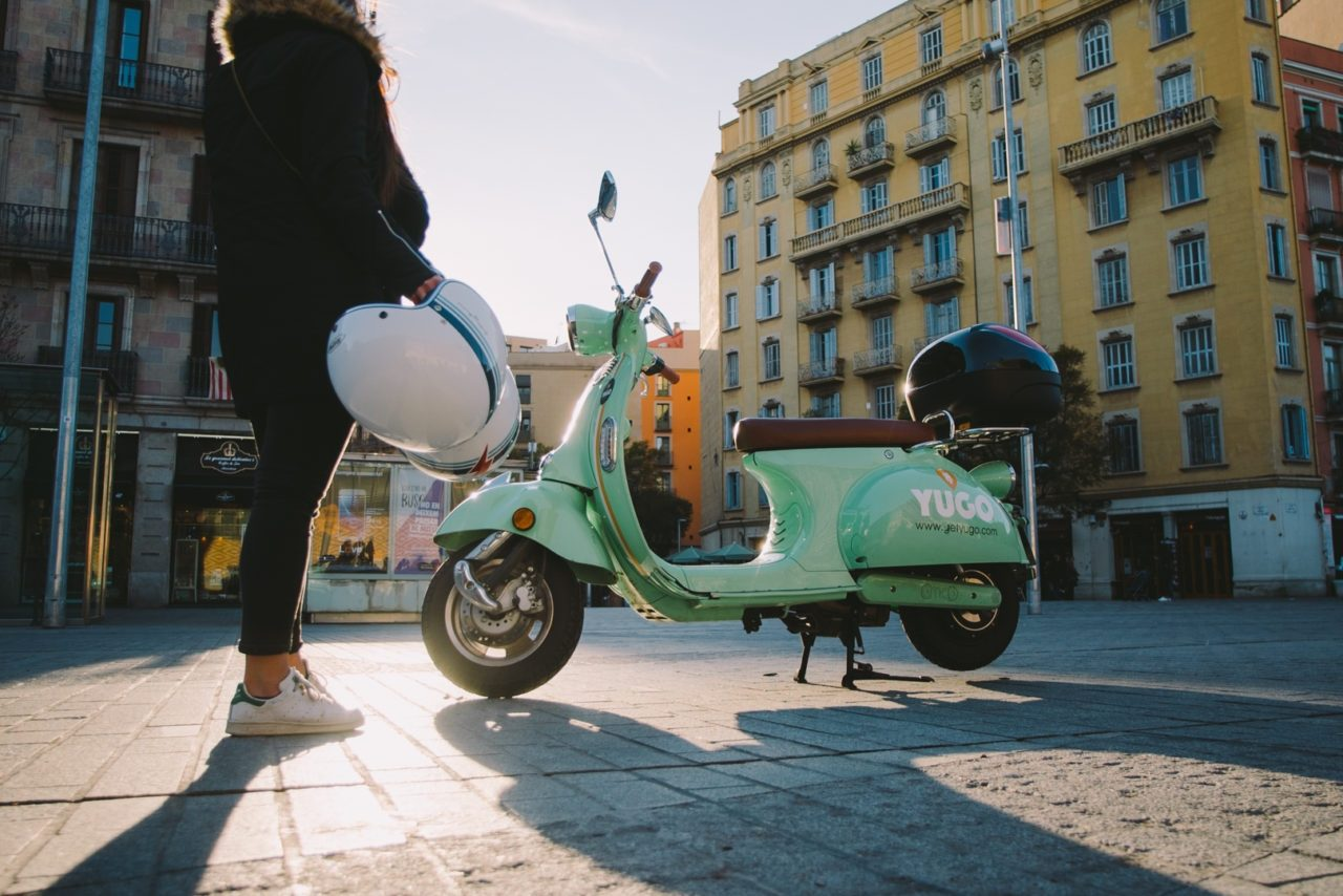 Scooter, bike and car sharing: The urban mobility scene in Barcelona